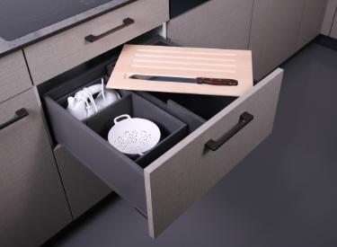 Boxen für Schubladen