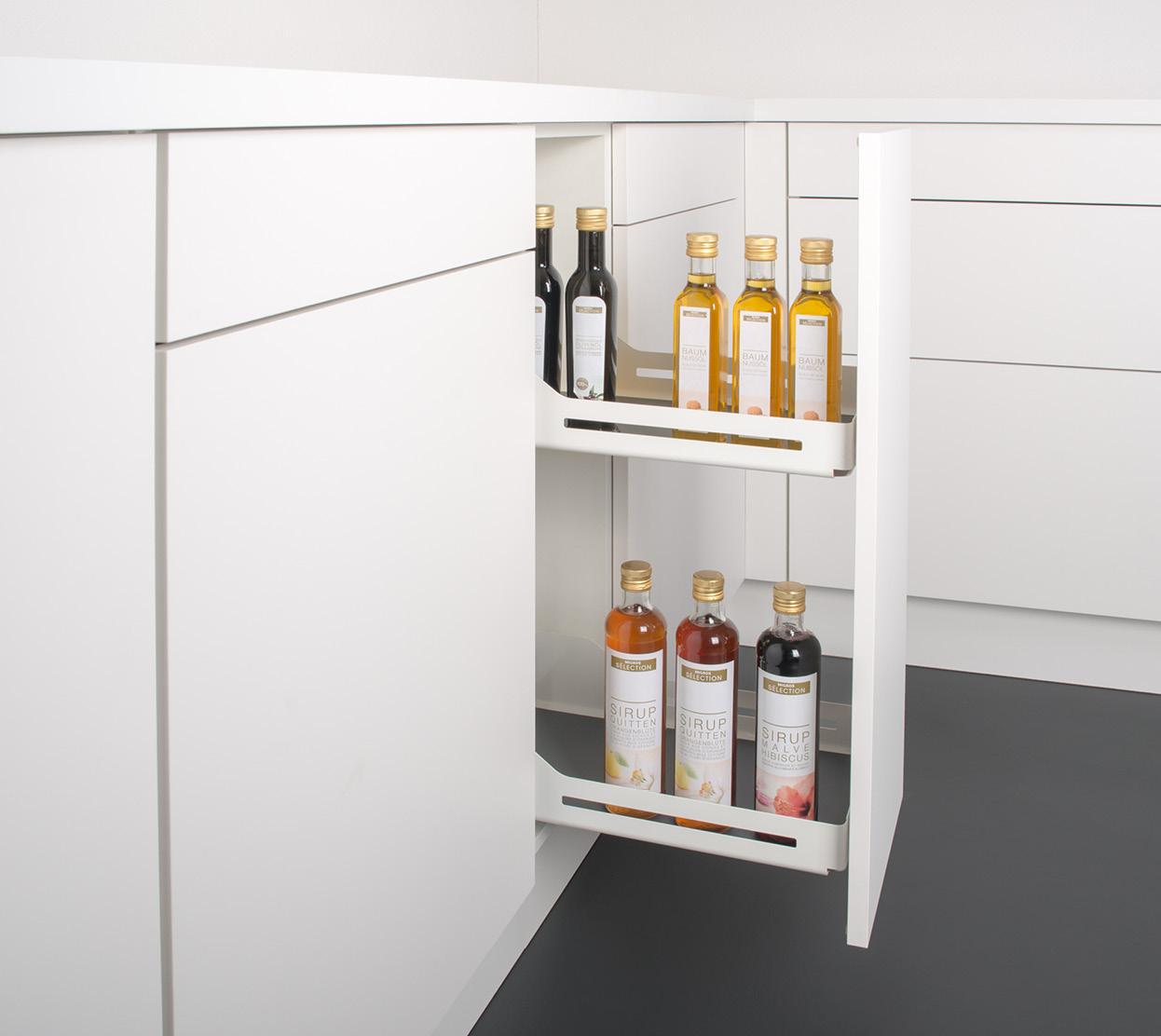 Schmaler Flaschenauszug