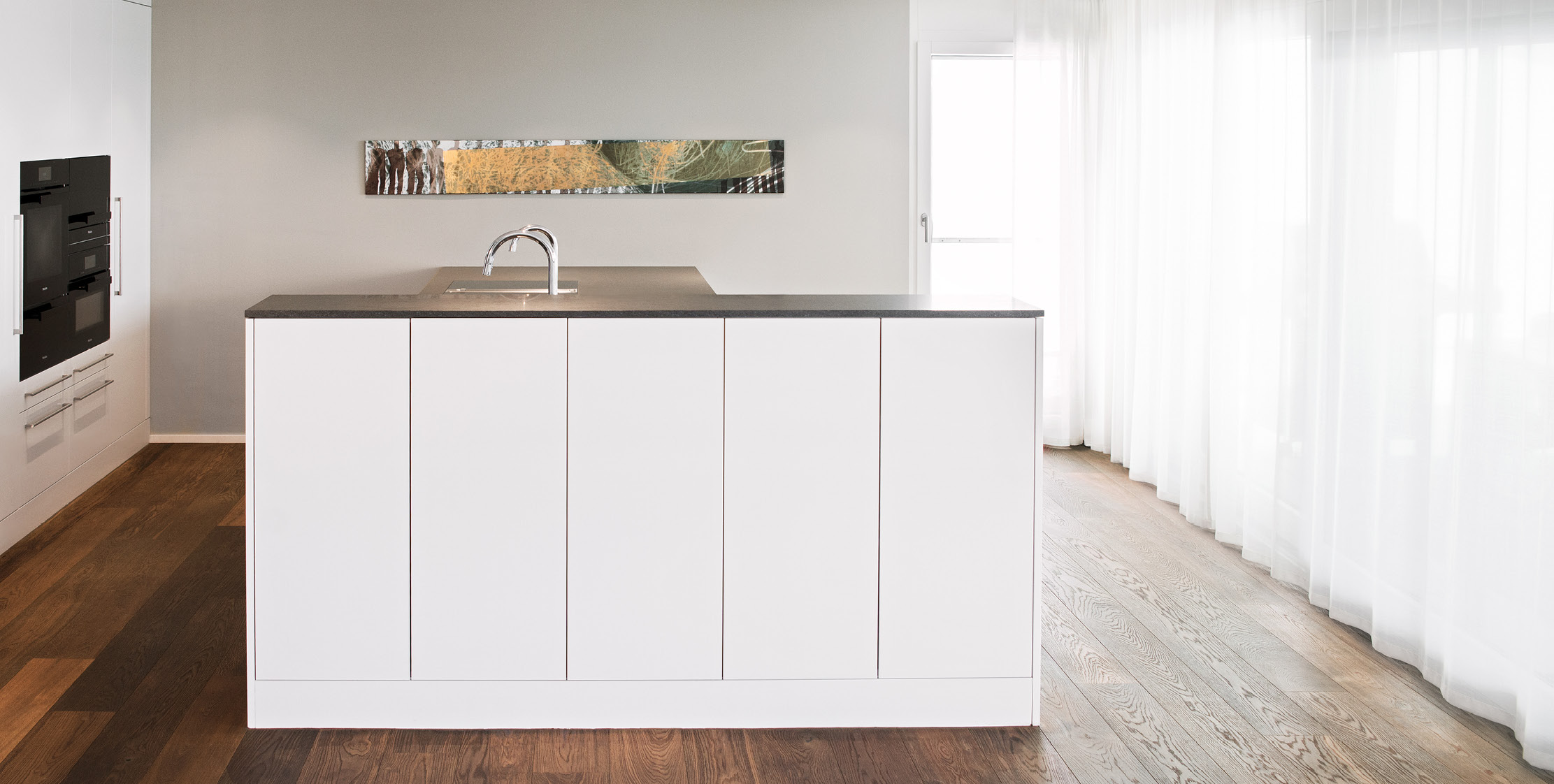 Küche Traum in Weiss